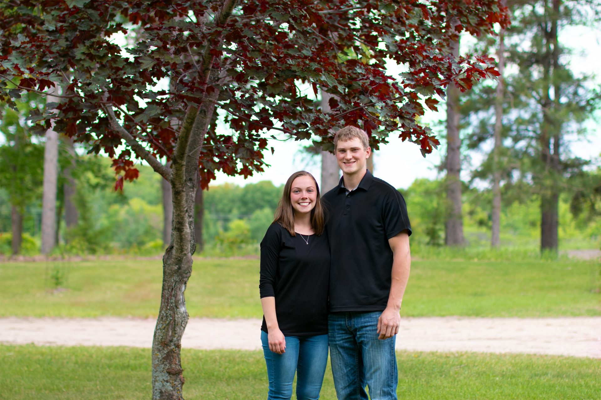 Cheyanne and Taylor Briard of Briard Construction Owners