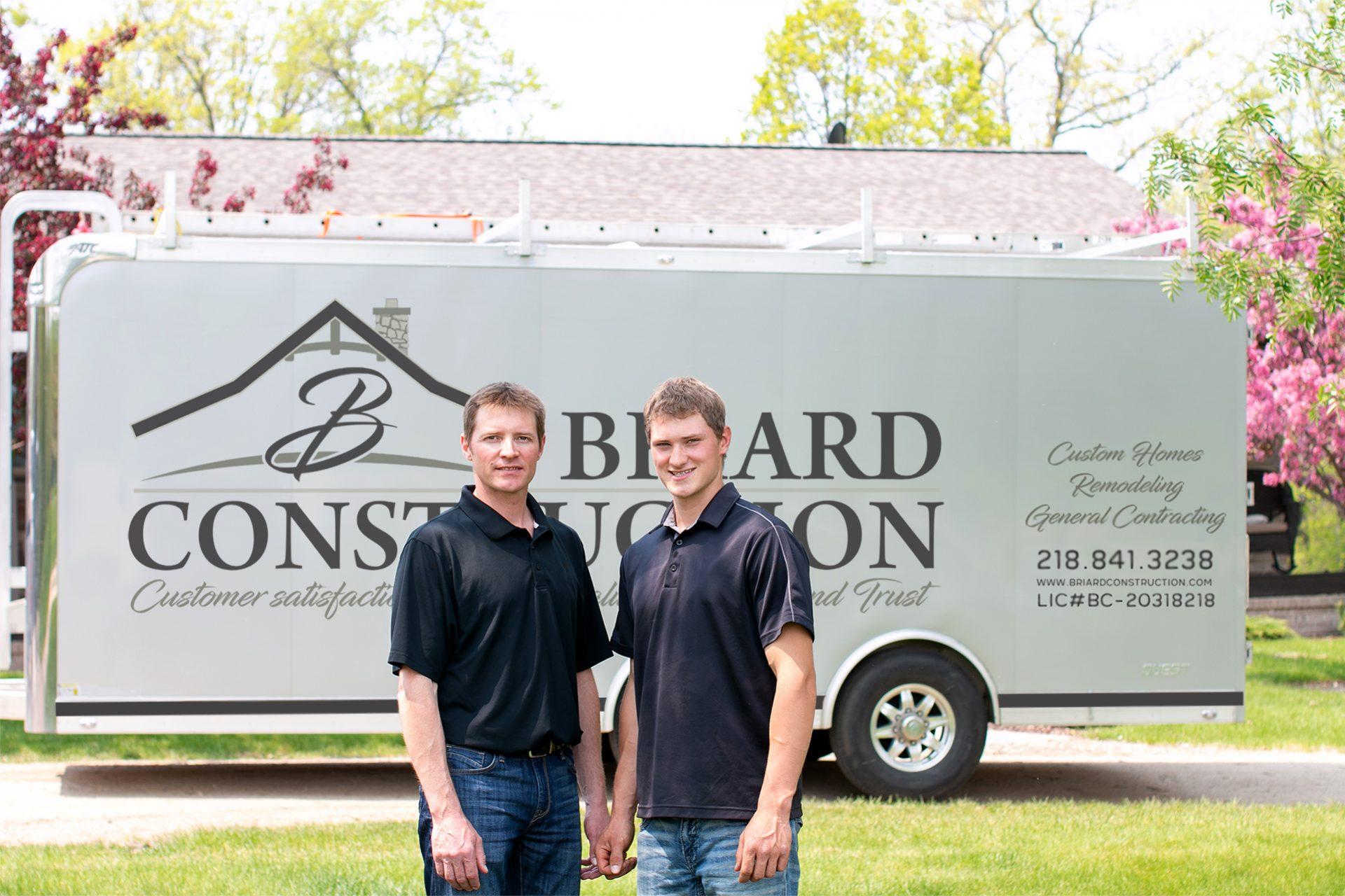 Partners: Hunter and Taylor Briard